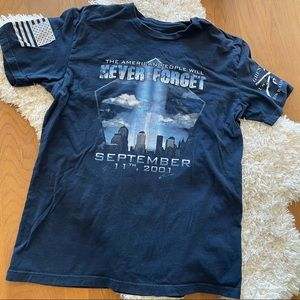 Grunt Style America never forget 9 11 graphic tee